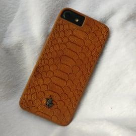 Santa Barbara Polo Club ® Apple iPhone 7 Knight Series Crocodile Finish PU Leather Back Cover