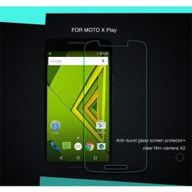 Dr. Vaku ® Motorola Moto X Play Ultra-thin 0.2mm 2.5D Curved Edge Tempered Glass Screen Protector Transparent