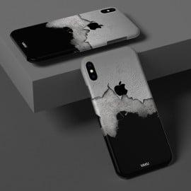 Vaku ® Apple iPhone X / XS Crack Stone Designer Print Back Cover