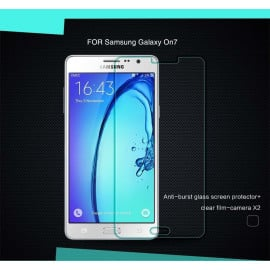 Dr. Vaku ® Samsung Galaxy On7 Ultra-thin 0.2mm 2.5D Curved Edge Tempered Glass Screen Protector Transparent