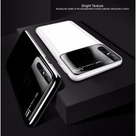 Vaku ® VIVO V15 Polarized Glass Glossy Edition PC 4 Frames + Ultra-Thin Case Back Cover