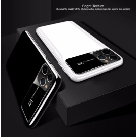 TOTU ®  Apple iPhone 11 Pro Max Polarized Glass Glossy Edition PC 4 Frames + Ultra-Thin Case Back Cover