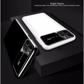 TOTU ®  Apple iPhone 11 Pro Polarized Glass Glossy Edition PC 4 Frames + Ultra-Thin Case Back Cover