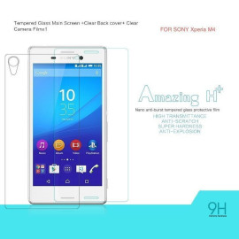 Dr. Vaku ® Sony Xperia M4 Ultra-thin 0.2mm 2.5D Curved Edge Tempered Glass Screen Protector Transparent