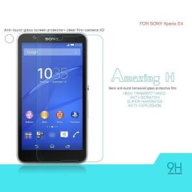 Dr. Vaku ® Sony Xperia E4 Ultra-thin 0.2mm 2.5D Curved Edge Tempered Glass Screen Protector Transparent