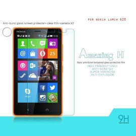 Dr. Vaku ® Nokia Lumia 620 Ultra-thin 0.2mm 2.5D Curved Edge Tempered Glass Screen Protector Transparent