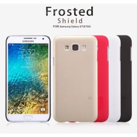Nillkin ® Samsung Galaxy E7 Super Frosted Shield Dotted Anti-Slip Grip PC Back Cover