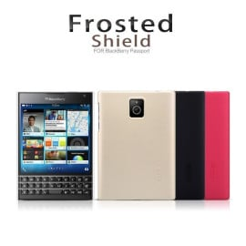 Nillkin ® BlackBerry Passport Super Frosted Shield Dotted Anti-Slip Grip PC Back Cover