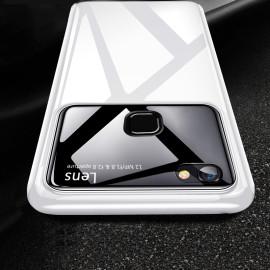Vaku ® Vivo Y83 Polarized Glass Glossy Edition PC 4 Frames + Ultra-Thin Case Back Cover