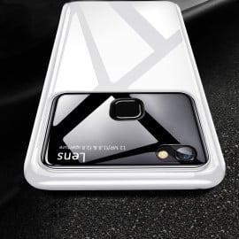 Vaku ® Vivo V7 Polarized Glass Glossy Edition PC 4 Frames + Ultra-Thin Case Back Cover