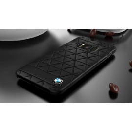BMW ® Samsung S8 PLUS Official Superstar zDRIVE Leather Case Limited Edition Back Cover