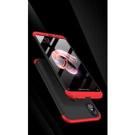 FCK ® Xiaomi Redmi Note 5 Pro 3-in-1 360 Series PC Case Dual-Colour Finish Ultra-thin Slim Front Case + Back Cover