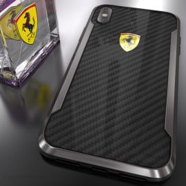 Ferrari ® iPhone XS APERTA Ultra-Thin with carbon fiber and Aluminum Alloy