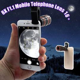 Vaku ® 12X Manual Focus ZOOM Mobile Phone Telescope lens