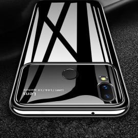 Vaku ® Huawei P20 Lite Polarized Glass Glossy Edition PC 4 Frames + Ultra-Thin Case Back Cover