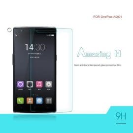 Dr. Vaku ® OnePlus One Ultra-thin 0.2mm 2.5D Curved Edge Tempered Glass Screen Protector Transparent