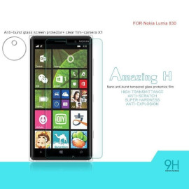 Dr. Vaku ® Nokia Lumia 830 Ultra-thin 0.2mm 2.5D Curved Edge Tempered Glass Screen Protector Transparent