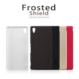 Nillkin ® Sony Xperia M4 Aqua Super Frosted Shield Dotted Anti-Slip Grip PC Back Cover
