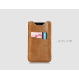 "Rock ® Universal upto 4.7"" Luxurious Universal Wallet Case Made of PU and microfiber material Pouch Case"