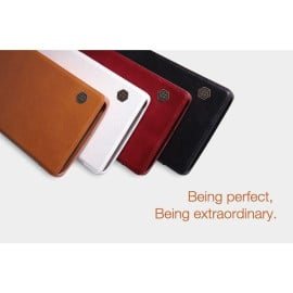 Nillkin ® OnePlus 2 Nitq Folio Leather Protective Case with Credit Card Slot Flip Cover