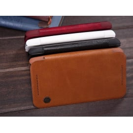 Nillkin ® Motorola G3 Nitq Folio Leather Protective Case with Credit Card Slot Flip Cover
