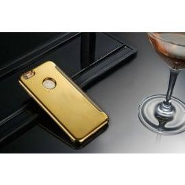 Vaku ® Apple iPhone 6 Plus / 6S Plus Mate Smart Awakening Mirror Folio Metal Electroplated PC Flip Cover