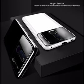 Vaku ® Oppo F11 Pro Polarized Glass Glossy Edition PC 4 Frames + Ultra-Thin Case Back Cover