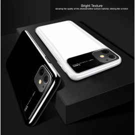 TOTU ® For Apple iPhone 11 Polarized Glass Glossy Edition PC 4 Frames + Ultra-Thin Case Back Cover