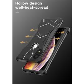 VAKU ® Apple iPhone XR Magnetic Panther Aluminium Metal Shock-Proof Anti-Fall Bumper Back Cover