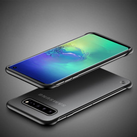 VAKU ® Samsung Galaxy S10 Frameless Semi Transparent Cover