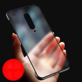 VAKU ® OnePlus 7 Pro Frameless Semi transparent Cover