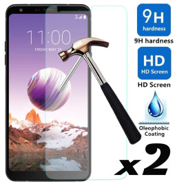 Dr. Vaku ® LG L Fino Ultra-thin 0.2mm 2.5D Curved Edge Tempered Glass Screen Protector Transparent