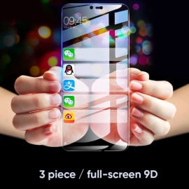 Dr. Vaku ® EyeFi Series 5D Curved Edge Ultra-Strong Full Tempered Glass - Andriod