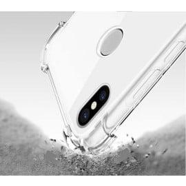 Vaku ® Xiaomi Redmi Note 5 Pro PureView Series Anti-Drop 4-Corner 360° Protection Full Transparent TPU Back Cover Transparent