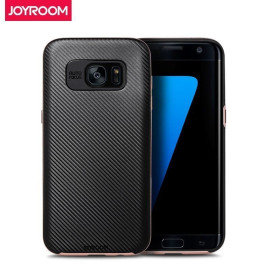 Joyroom ® Samsung Galaxy S7 Silicone SoftTouch Grip Ultra-Fit Durable Smart Coat Protective Case + Metallic Finish Bumper Back Cover