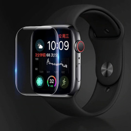 VAKU ® Apple Watch Series 1 / 2 / 3 38mm ASAHI Glass with 3M Glue Ultra-thin 2.5D Curved Edge Tempered Glass Screen Protector Transparent 【Watch Not Included】