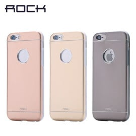 Rock ® Apple iPhone 6 / 6S Element Case Shockproof TPU + PC + Arc Aluminium Metal Back Cover