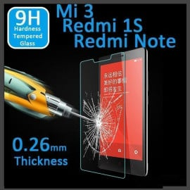 Dr. Vaku ® Xiaomi Redmi 1S Ultra-thin 0.2mm 2.5D Curved Edge Tempered Glass Screen Protector Transparent