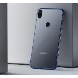 Vaku ® Redmi Note 7 Pro Frameless Semi Transparent Cover