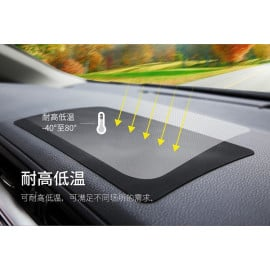Rock ® Anti-slip Anti-Bump Rubberized Car Dashboard Mat Car Holder Black