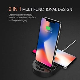 Totu ® AC1530 Multifunction Compact and Portable Wireless Charger