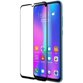 Dr. Vaku ® Huawei Honor 10 Lite Curved Edge Ultra-Strong Ultra-Clear Full Screen Tempered Glass-Black