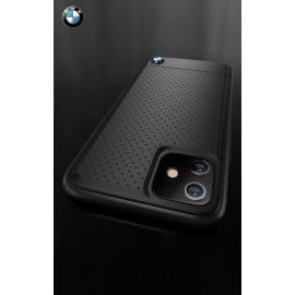 BMW ® Apple iPhone 11 Dotted M4 Coupe Leather Edition Back Cover