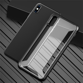 VAKU ® For Apple iPhone XS Max Hybrid Protective Clear Case Back Cover