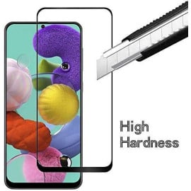 Dr. Vaku ® Samsung Galaxy S10Lite Full Edge-to-Edge Ultra-Strong Ultra-Clear Full Screen Tempered Glass- Black