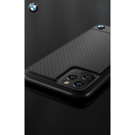 BMW ® Apple iPhone 11 Pro Dotted M4 Coupe Leather Edition Back Cover
