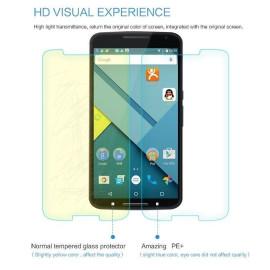 Dr. Vaku ® Motorola Google Nexus 6 Ultra-thin 0.2mm 2.5D Curved Edge Tempered Glass Screen Protector Transparent