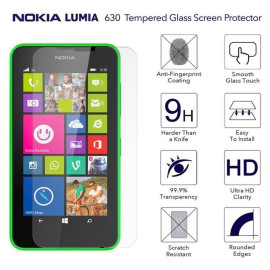 Dr. Vaku ® Nokia Lumia 635 Ultra-thin 0.2mm 2.5D Curved Edge Tempered Glass Screen Protector Transparent