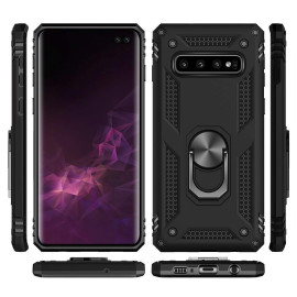 Vaku ® Samsung Galaxy Note 8 Armor Ring Shock Proof Cover with Inbuilt Kickstand