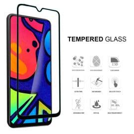 Dr. Vaku ® Samsung Galaxy F41 Full Edge-to-Edge Ultra-Strong Ultra-Clear Full Screen Tempered Glass- Black